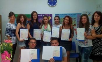 Честити сертификати на Кеймбридж!