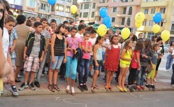 Тържество и водосвет за новата учебна година в Петрич