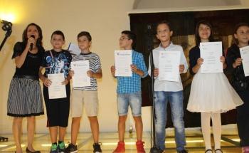 Церемония по връчване на сертификатите на Кеймбридж