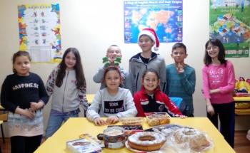 Коледно настроение в Училища ЕВРОПА-София, Учебен център