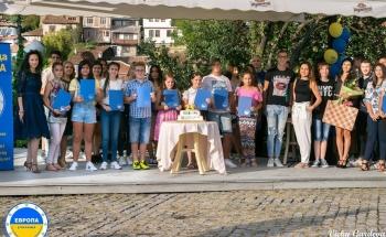 Раздаване на сертификати на Кеймбридж в Училища ЕВРОПА - В. Търново