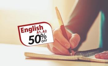 Курсове по английски език за възрастни с 50% отстъпка!