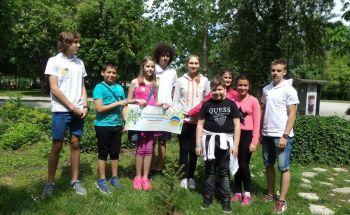 Училища ЕВРОПА - Пазарджик се включиха в Националната инициатива ,,Гората на Европа