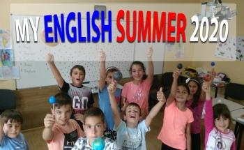 Лятна езикова занималня MY ENGLISH SUMMER 2020 - В. Търново